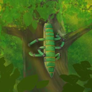 Robot climbing a tree